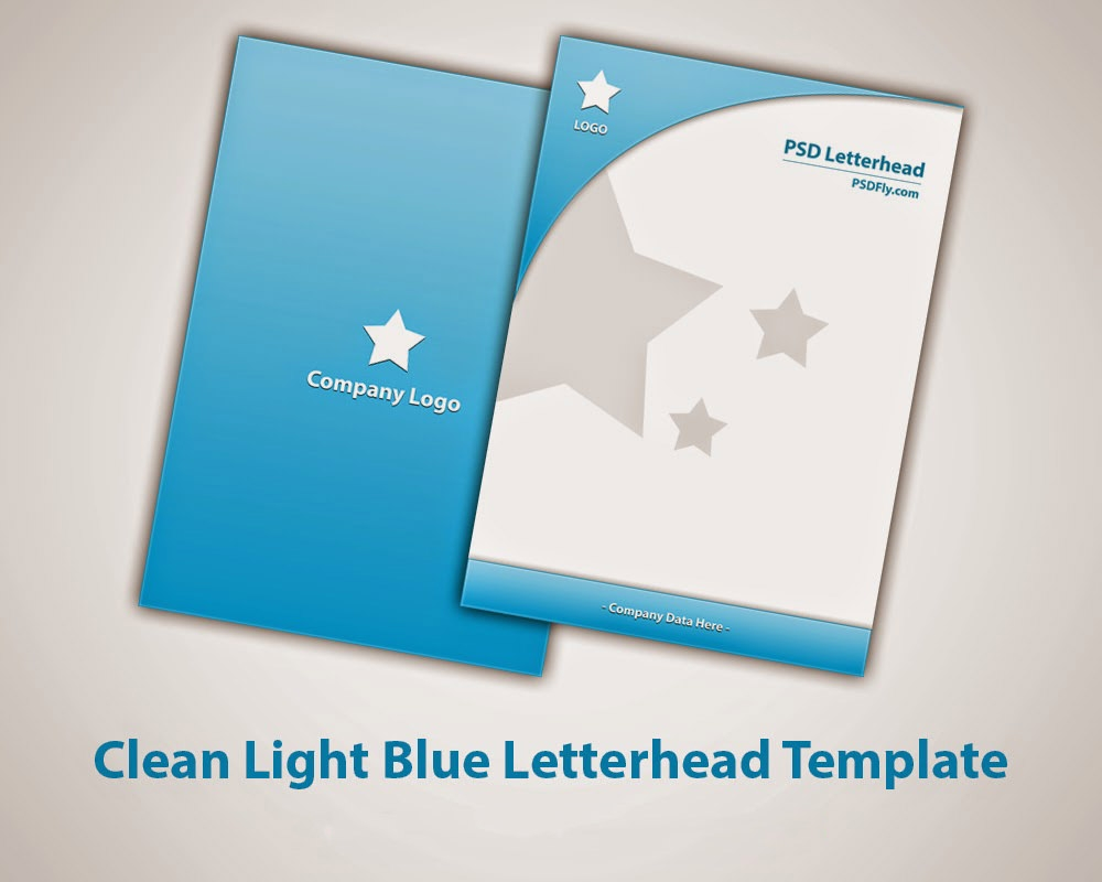 15 free vector psd company letter head design template