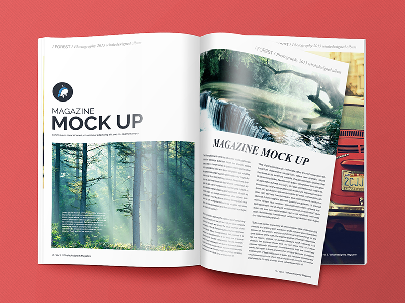 15  free psd magazine cover page designs templates