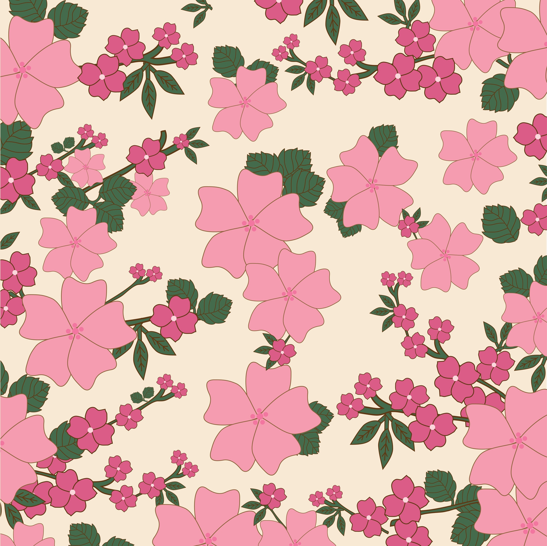 Download 15+ Free Floral Vintage Wallpapers