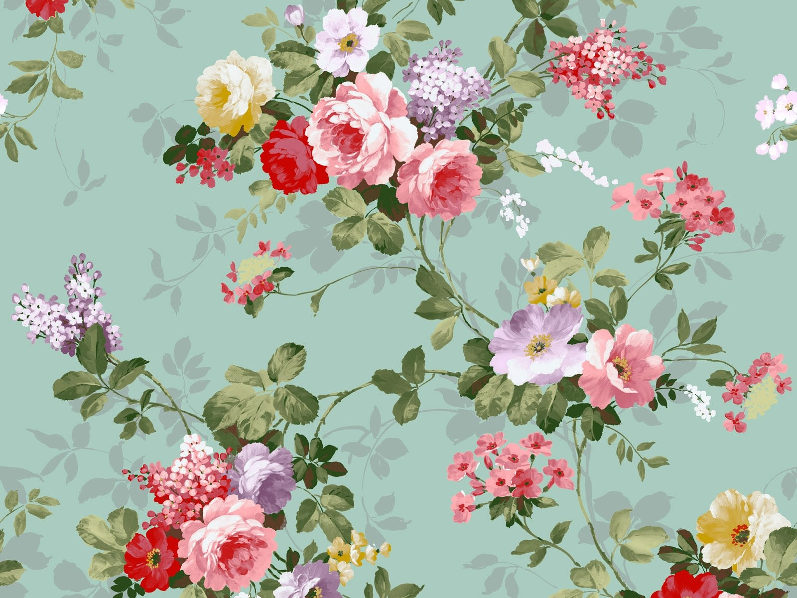 chintz wallpaper desktop - photo #33