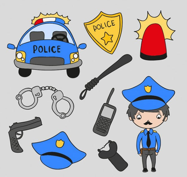 15 free vector police cartoon clipart how to make your own clip art person how to make your own clipart for free