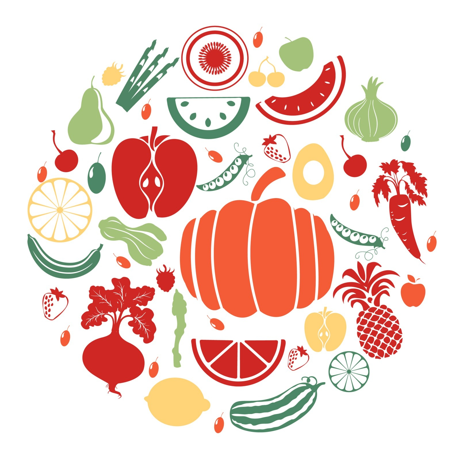 free vector vegetables clipart - photo #29