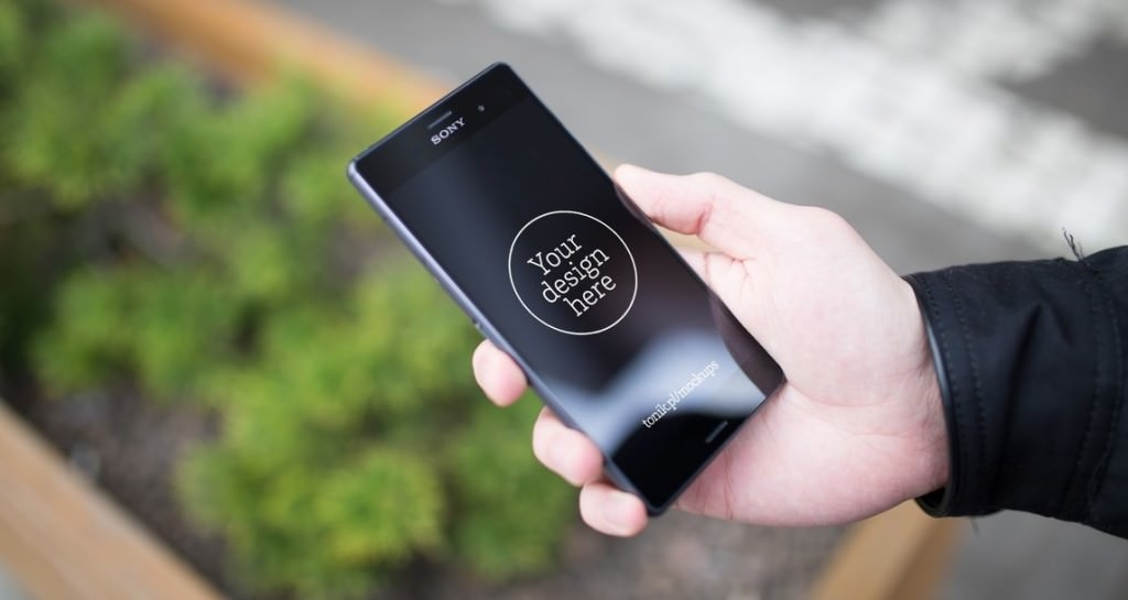 Free Psd Sony Mobile Phone Mockups