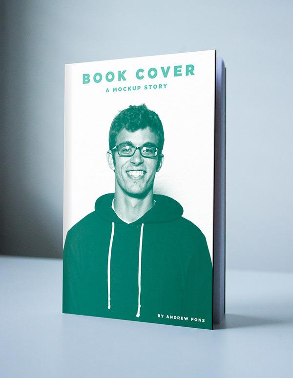 Old Book Cover Mockup : Book cover mockup freecreatives