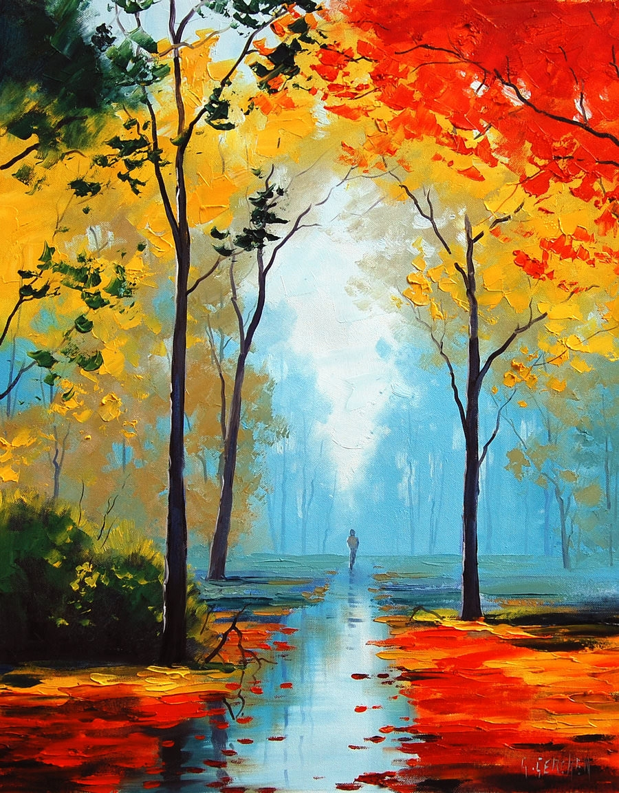 15 landscape paintings of nature for Www painting com