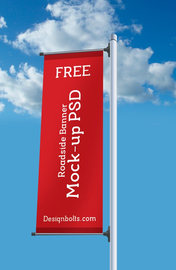 20 Banner Mockups Freecreatives