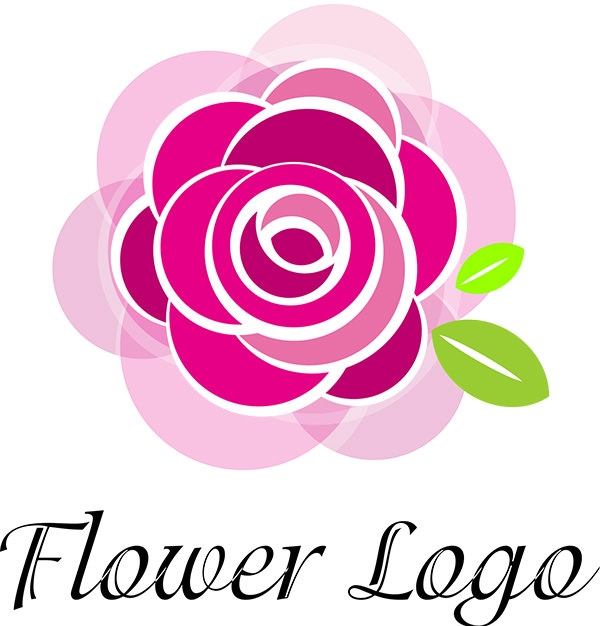rose flower art vector...