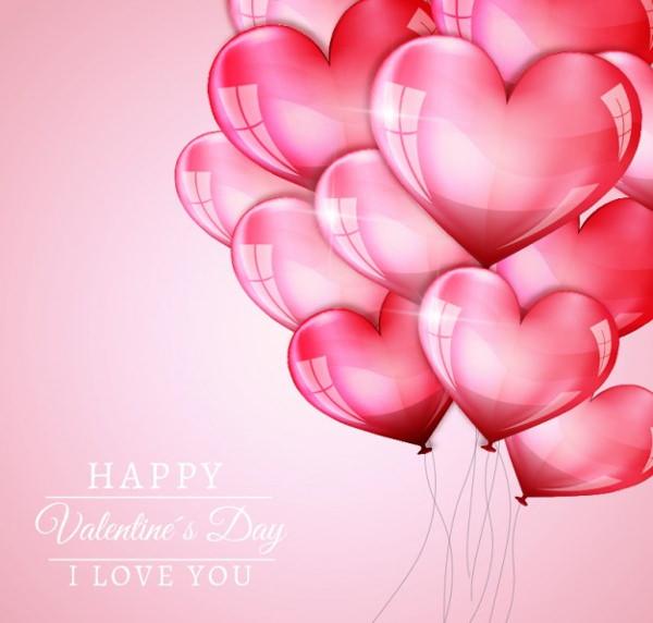 desktop wallpaper valentine heart balloons - photo #12