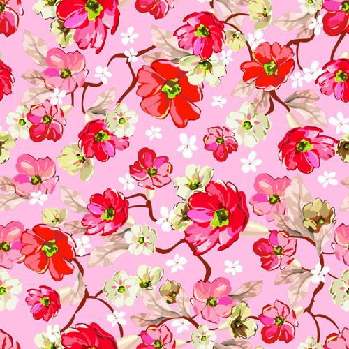 pink flower wallpaper pattern - photo #8