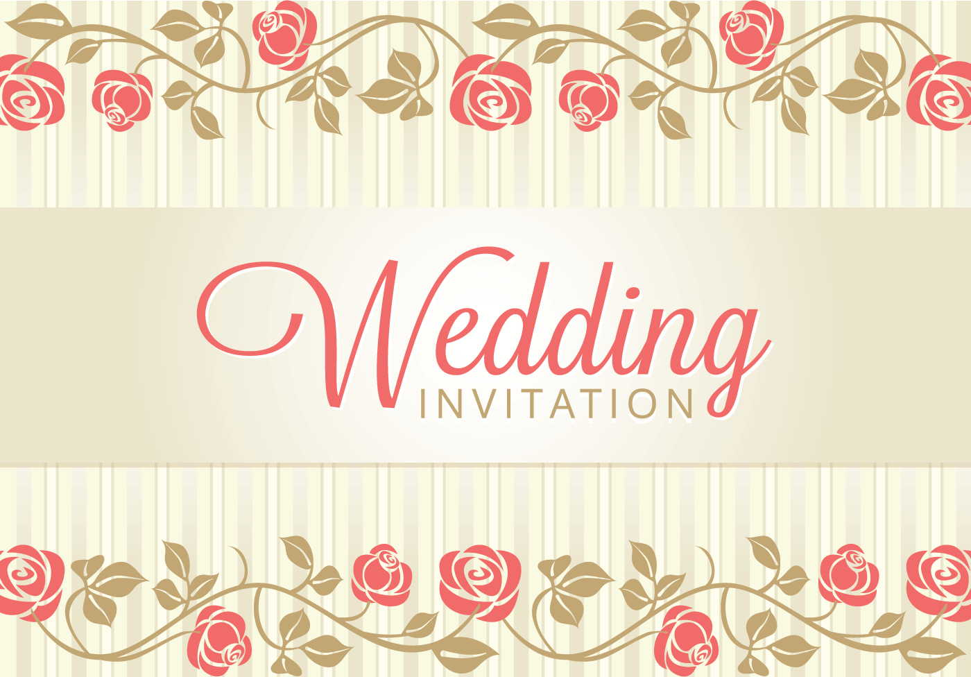 Invitation Wedding Card: Vintage Wedding Backgrounds