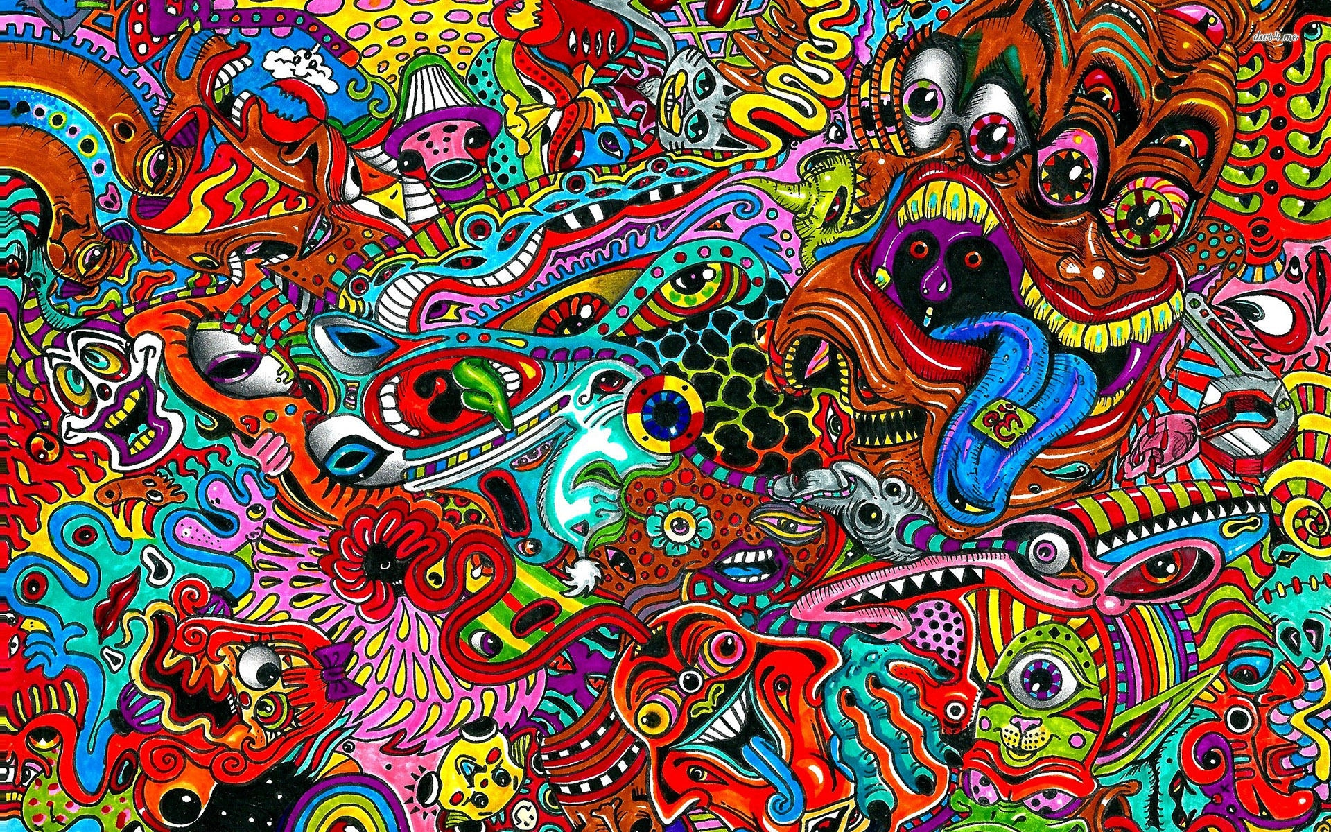 18 Psychedelic Backgrounds Wallpapers Images