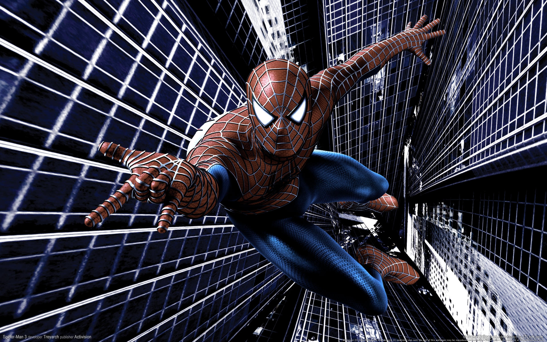 человек паук прыжок  № 3316468 загрузить