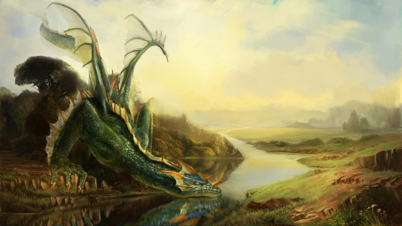 21  Dragon Wallpapers Backgrounds Images FreeCreatives