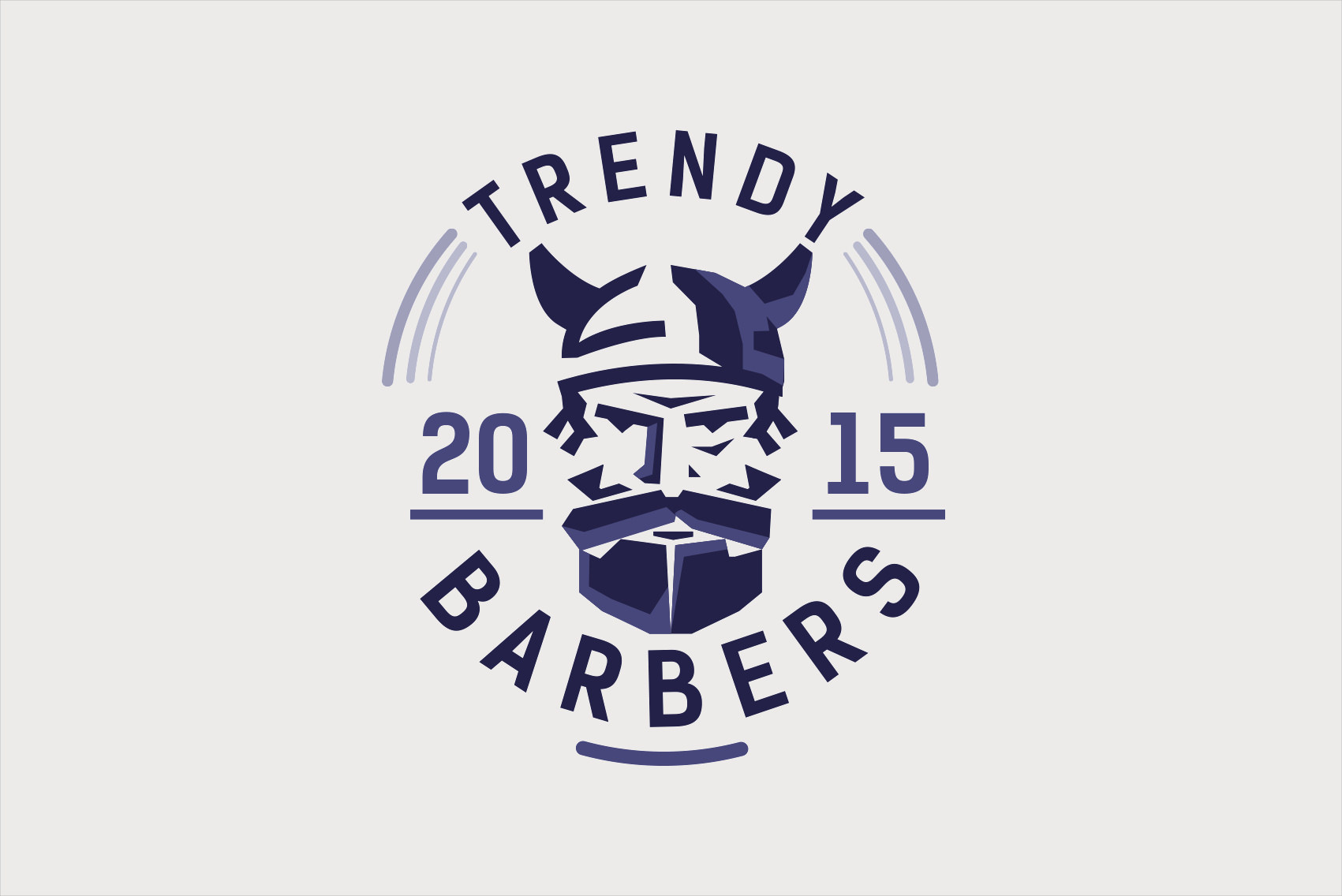 The gallery for --> Barber Logo Design