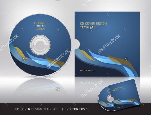 Образец обложку для диска