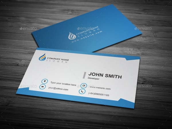 Free Templates For Business Cards Printable