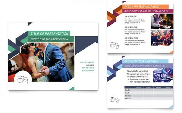 Flyer Powerpoint Template