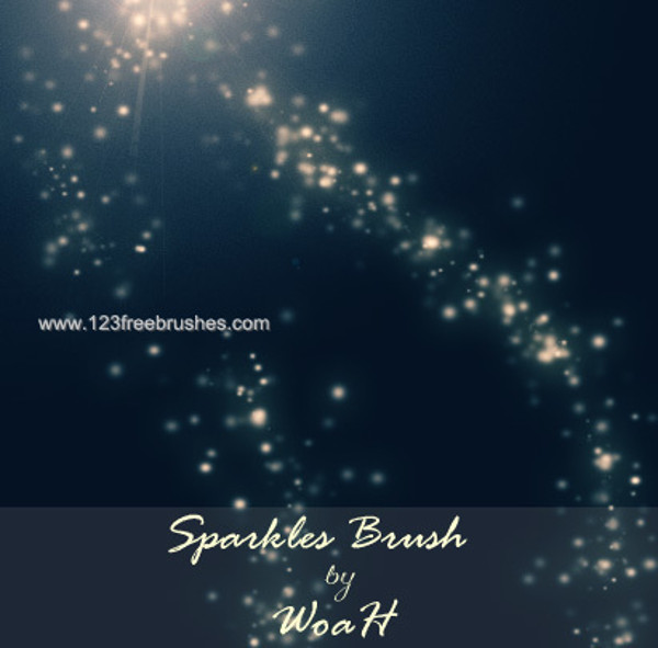 Sparkle Brush Photoshop