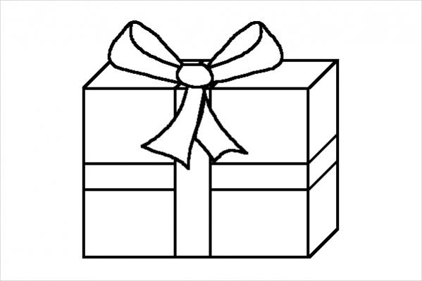 similiar draw christmas present design keywords