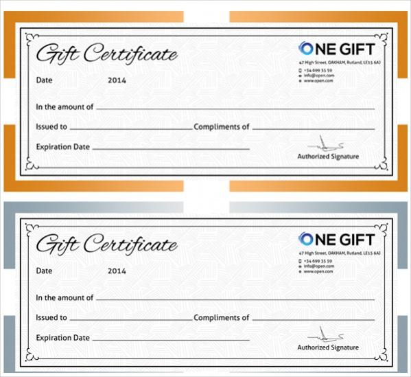 Blank gift certificate template datariouruguay blank gift certificate template new calendar template site yadclub Gallery