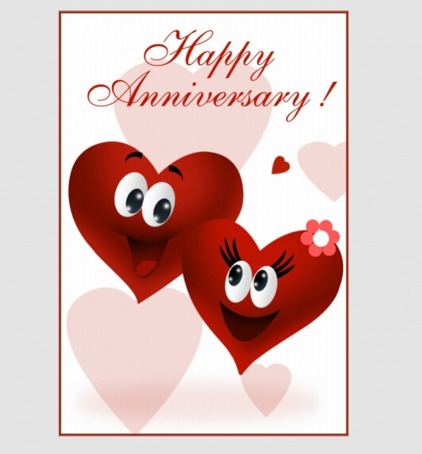 Free Anniversary Cards Jpg Psd Ai Illustrator Download