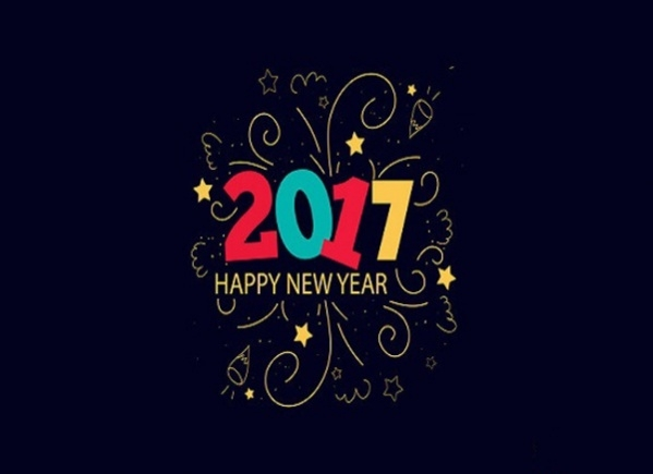 create new year card photoshop next image