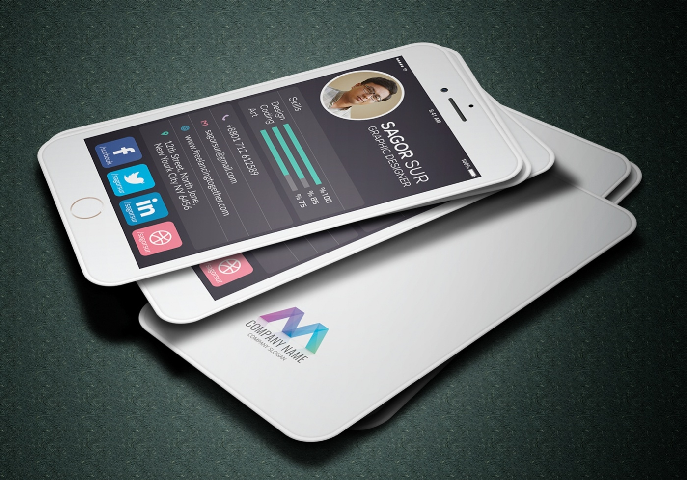Business card maker on iphone images card design and card template business card template iphone gallery card design and card template creative business cards iphone image collections reheart Images