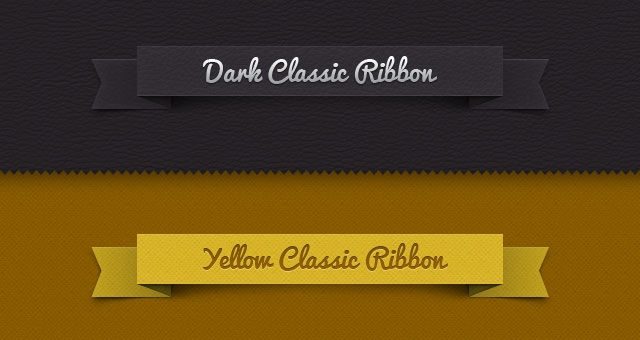 003-classic-ribbon-vintage-leather-psd