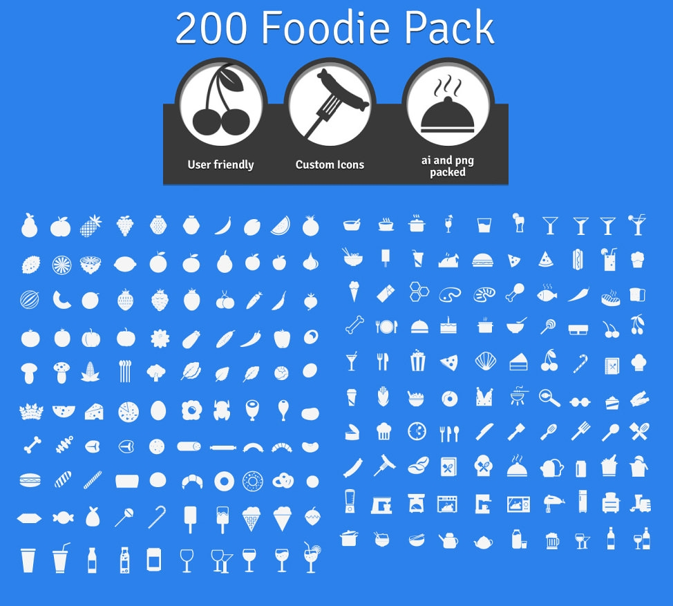 200-Foodie-icons-freebie