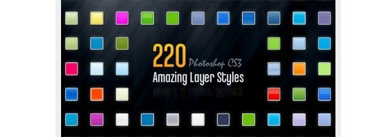 220 Photoshop Layer Styles