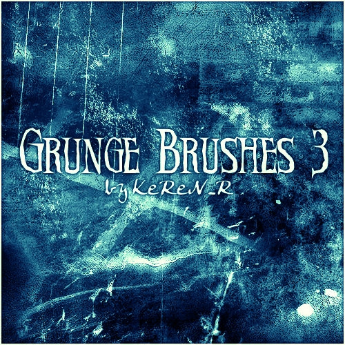 58 Grunge Brushes for Photoshop