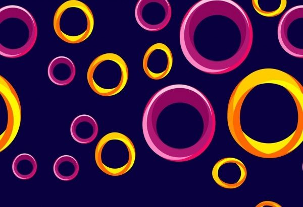 Abstract Circled Background Pattern