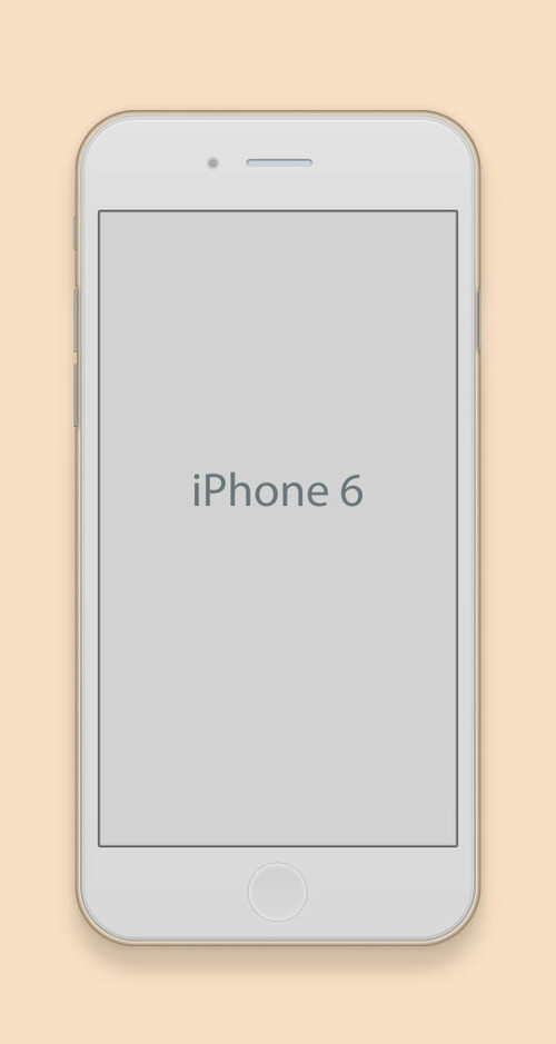 Apple Iphone 6 Mockup