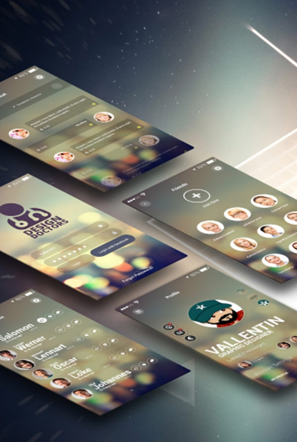 Design-Doctors-–-Social-UI-App-PSD