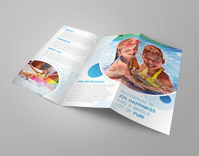 Download trifold brochure mockup design