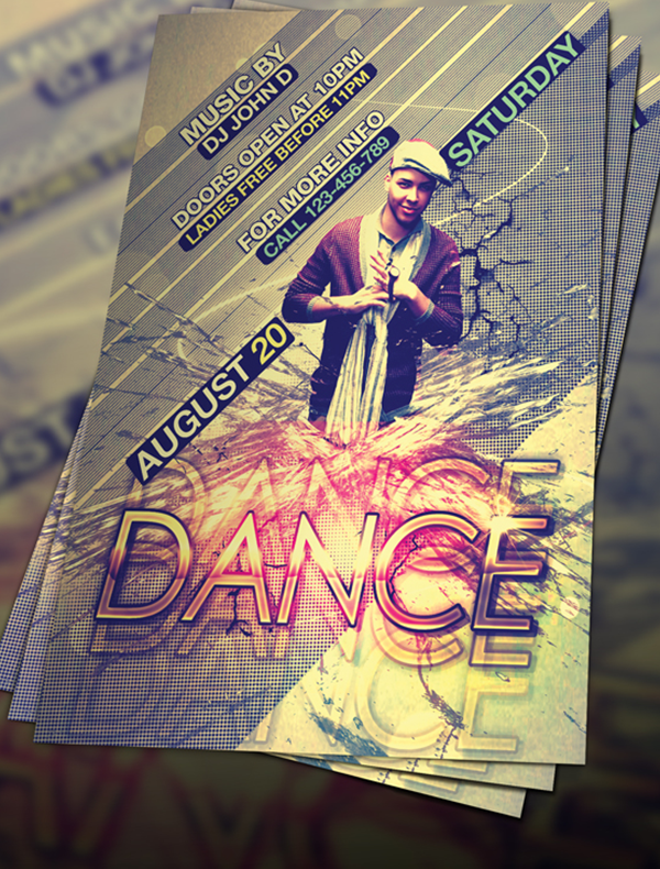 FREE-PSD-DANCE-FLYER