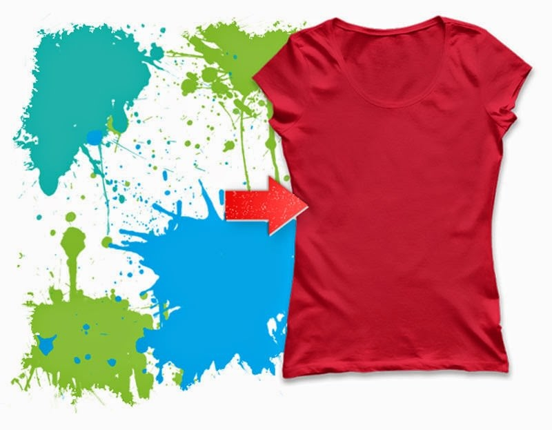 Free Ladies T-Shirt Mockup PSD