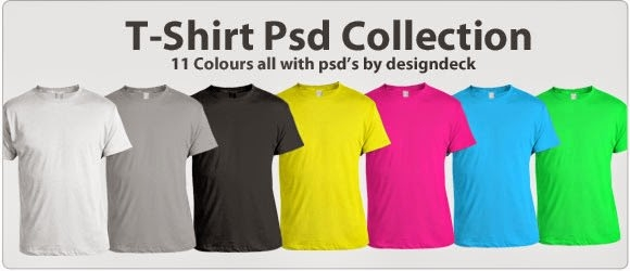 Free T-Shirt PSD Collection