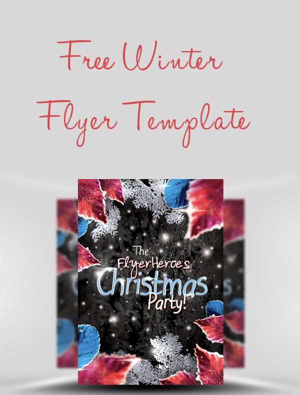 Free-Winter-Flyer-Template
