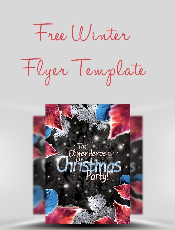 Free-Winter-Flyer-Template
