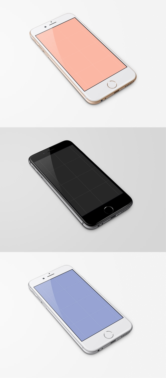 Free iPhone 6, 4.7-inch Template [PSD]