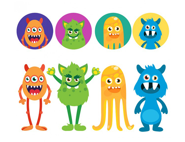 Funny-monsters-avatars