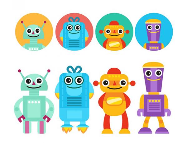 Funny-robots-avatars