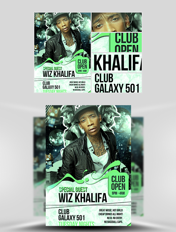 Galaxy501-Flyer-Templates