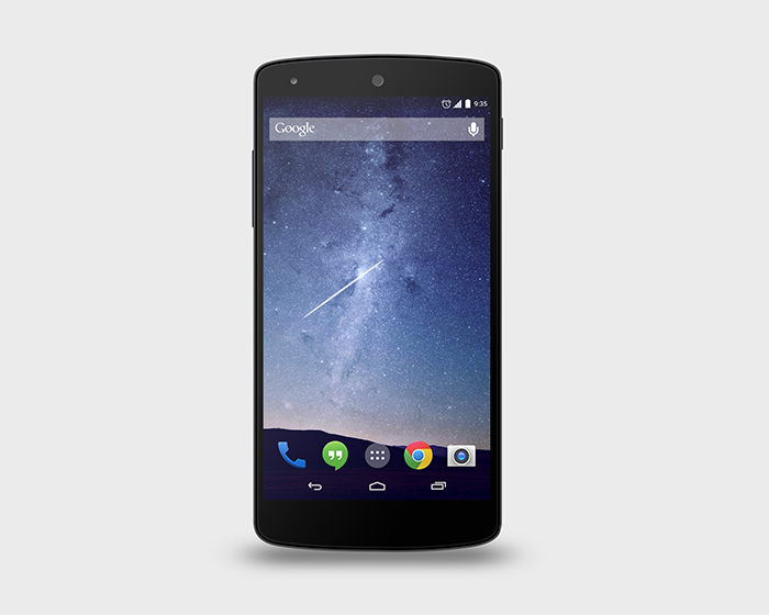 Google Nexus 5 PSD Mock-Up1