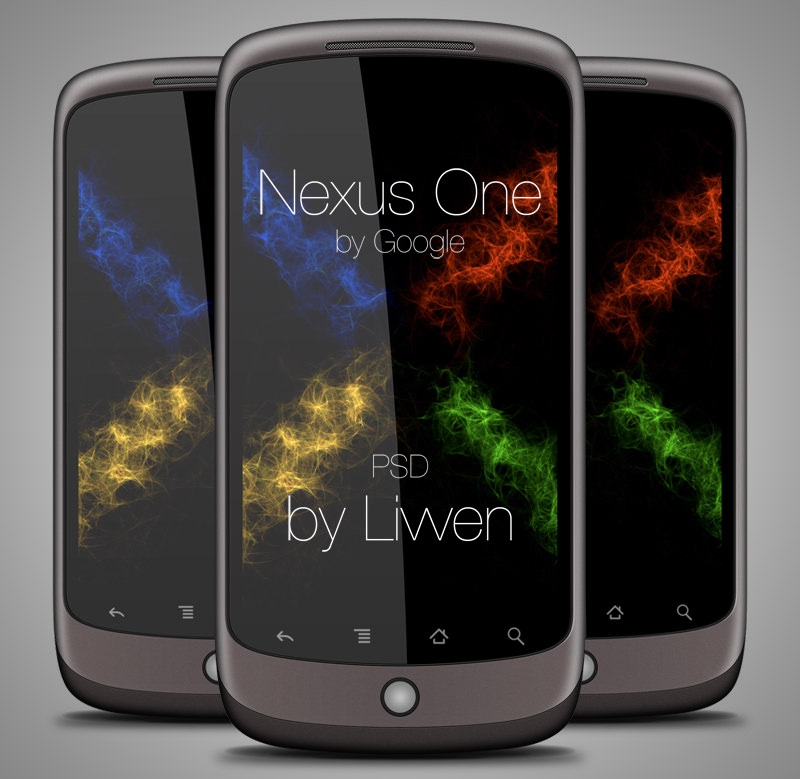 Google Nexus One PSD
