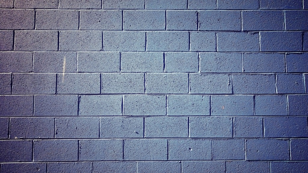 Grey coloured brick
