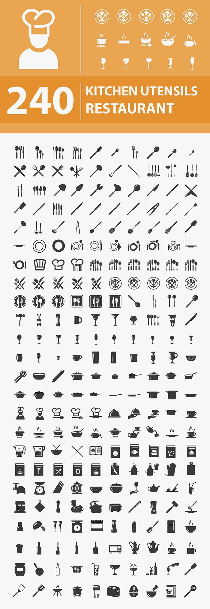kitchen restaurant utensils1