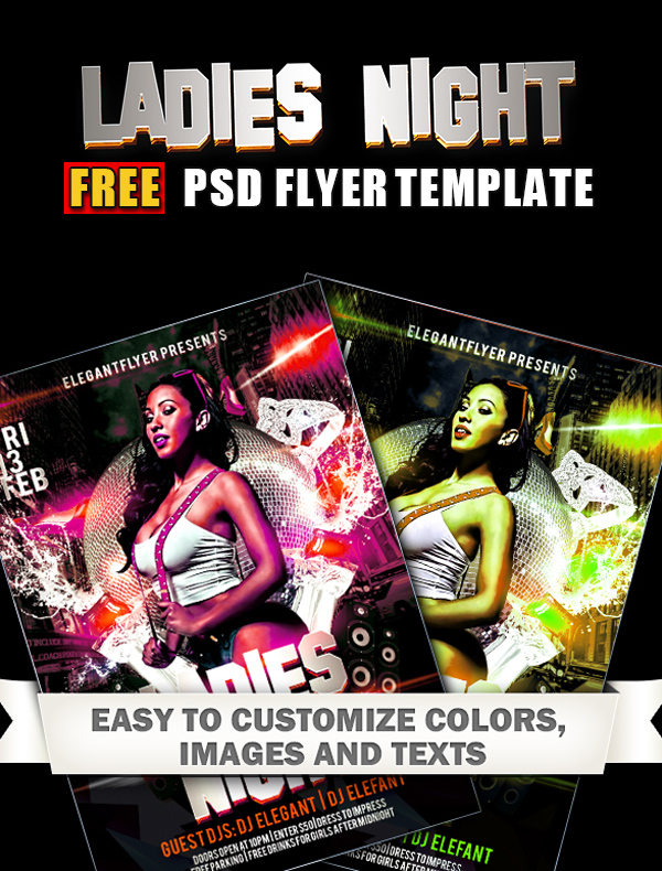 Ladies-Night-–-Club-and-Party-Free-Flyer-PSD-Template