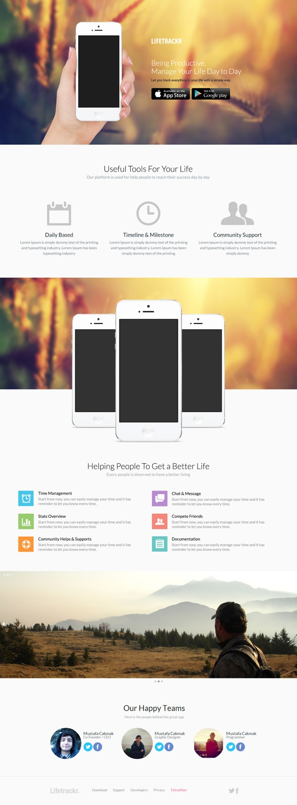 LifeTrackr-–-App-HTML-and-PSD-Template